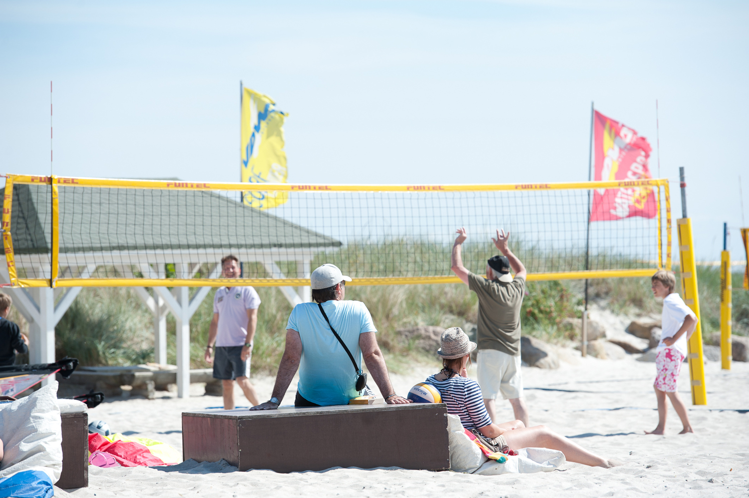 Beachvolleyball in Grömitz
