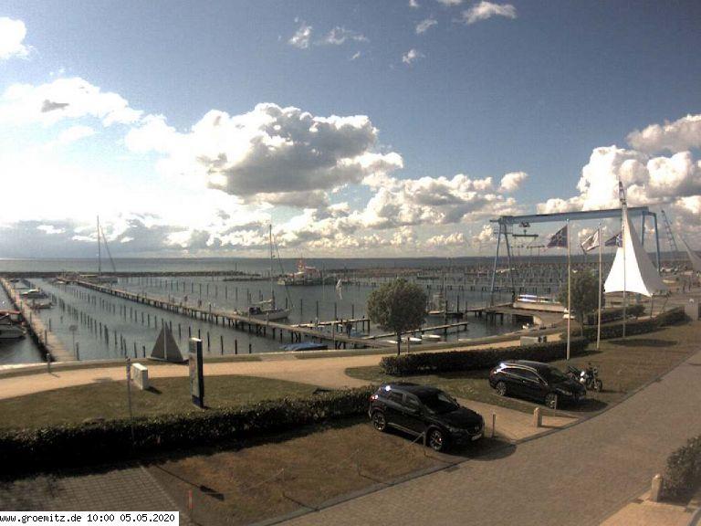 Webcam Grömitz Yachthafen
